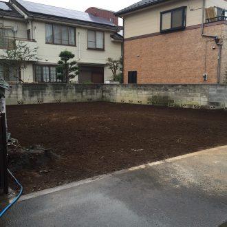 埼玉県入間市東町の解体工事を行いました。