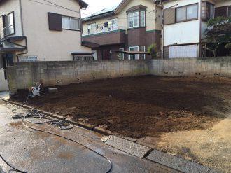 埼玉県所沢市上安松の解体工事を行いました。