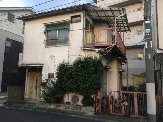 東京都練馬区東大泉の解体工事を行いました。