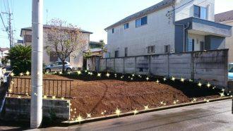 東京都東村山市青葉町の植栽撤去工事を行いました。
