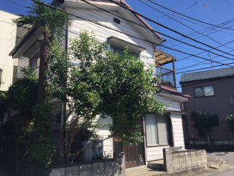 埼玉県草加市弁天の解体工事を行いました。