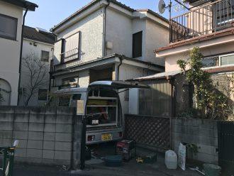 東京都調布市深大寺北町の解体工事を行いました。