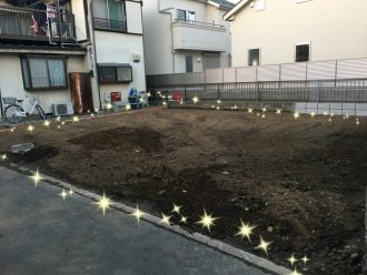 三芳町藤久保の解体工事を行いました。