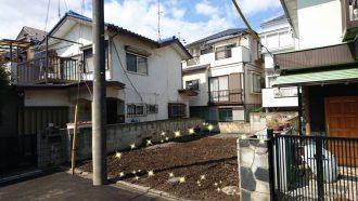 所沢市青葉台の解体工事を行いました。