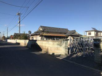 入間市宮寺の解体工事を行いました。