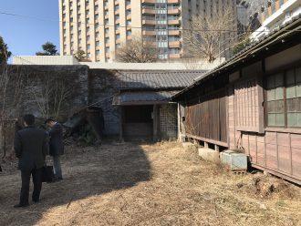 文京区湯島の解体工事を行いました。
