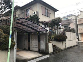 東京都練馬区平和台の解体工事を行いました。