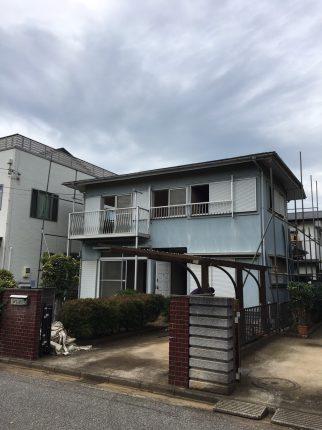八千代市大和田新田の解体工事を行いました。