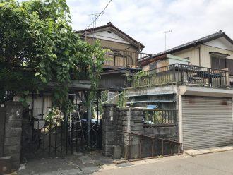 松戸市和名ヶ谷の解体工事を行いました。