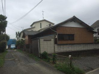 小金井市貫井北町の解体工事を行いました。