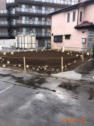 草加市北谷の解体工事を行いました。