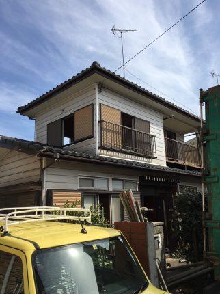 所沢市松郷の解体工事を行いました。