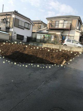 八王子市犬目町の解体工事を行いました。