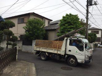 東村山市恩田町の解体工事を行いました。