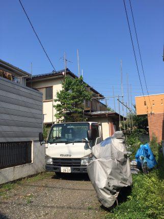 国分寺市北町の解体工事を行いました。