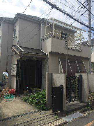 和光市南の解体工事を行いました。