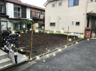 練馬区西大泉の解体工事を行いました。