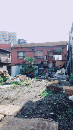 川崎市浜町の解体工事を行いました。