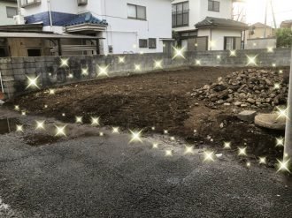 昭島市美堀町の解体工事を行いました。
