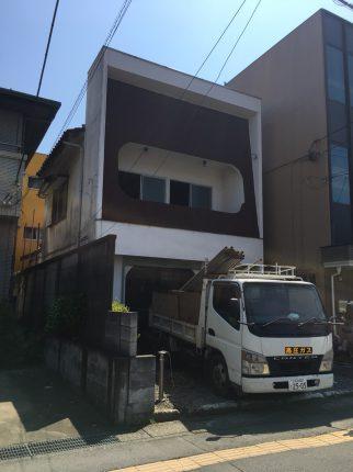 所沢市松葉町の解体工事を行いました。