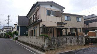 鶴ヶ島市上広谷の解体工事を行いました。