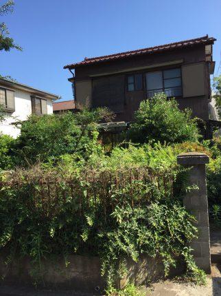 上尾市緑丘の解体工事を行いました。