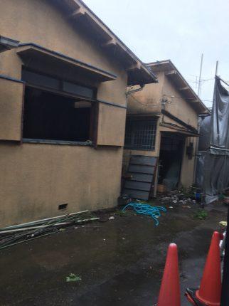 志木市本町の解体工事を行いました。