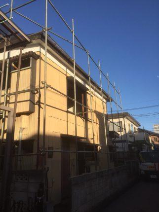川口市柳崎の解体工事を行いました。