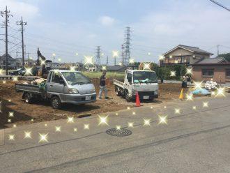 川越市中台の解体工事を行いました。