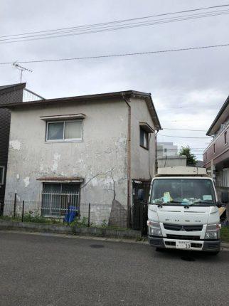 野田市清水の解体工事を行いました。