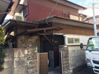 練馬区土支田の解体工事を行いました。