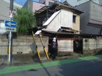 川越市脇田町の解体工事を行いました。