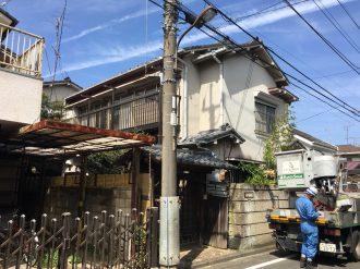 立川市若葉町の解体工事を行いました。