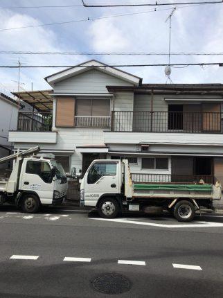 江戸川区東小岩の解体工事を行いました。
