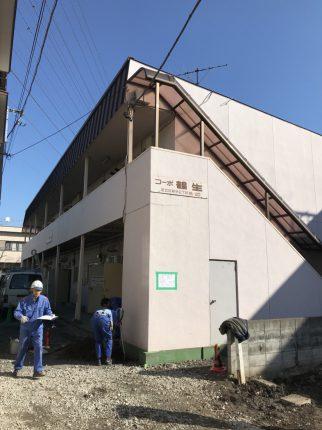 足立区新田の解体工事を行いました。