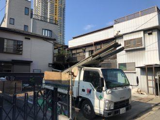 川口市元郷の解体工事を行いました。