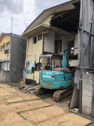 三鷹市大沢の解体工事を行いました。