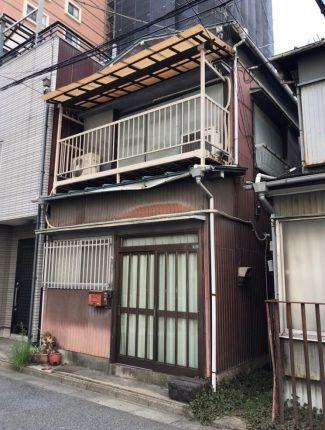 川口市栄町の解体工事を行いました。