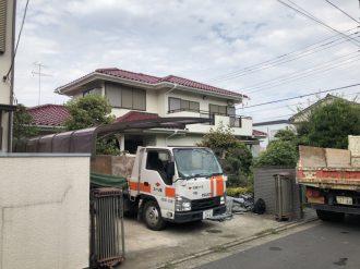 府中市栄町の解体工事を行いました。