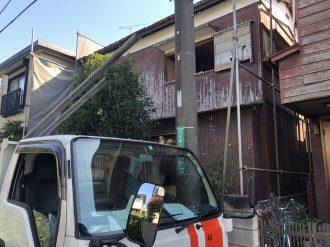 国分寺市日吉町の解体工事を行いました。