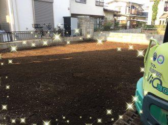 富士見市鶴瀬西の解体工事を行いました。