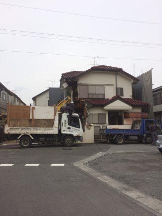 さいたま市見沼区大和田の解体工事を行いました。