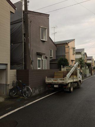 蓮田市蓮田の解体工事を行いました。