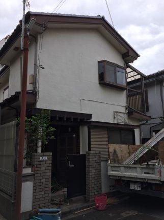 小平市小川町の解体工事を行いました。