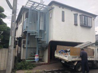 世田谷区給田の解体工事を行いました。