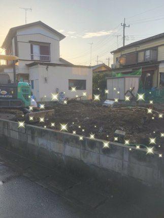 春日部市大衾の解体工事を行いました。