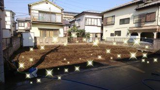 所沢市花園の解体工事を行いました。