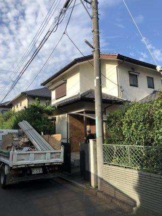 所沢市小手指町の解体工事を行いました。
