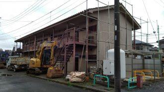 富士見市上沢の解体工事を行いました。