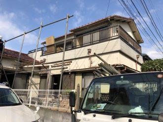 練馬区大泉町の解体工事を行いました。